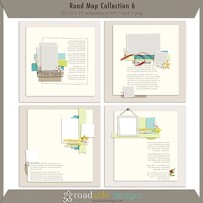 Roadside Designs Road Map Collection 6