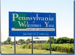 7576 I-90 Welcome to Pennsylvania