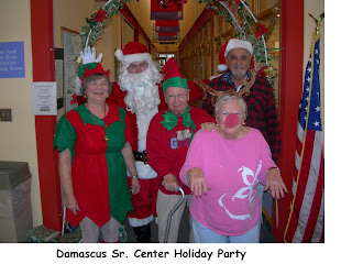 Damascus Senior Center Holiday Party '08