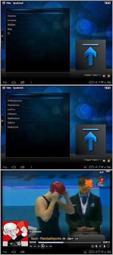 SportsDevil su XBMC su Android