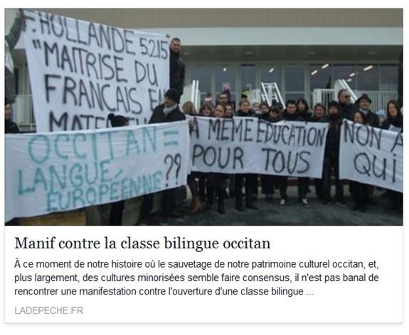 Contra l'occitan