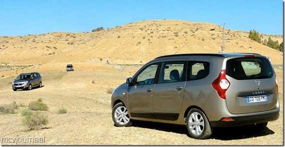 Dacia Lodgy testdagen 11