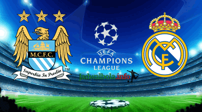 Manchester City vs Real Madrid Liga Champions