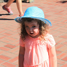 Tiffany by David Liu - Babies & Children Children Candids ( rose, girl, blue, curls, pink, sunlight, tiffany )