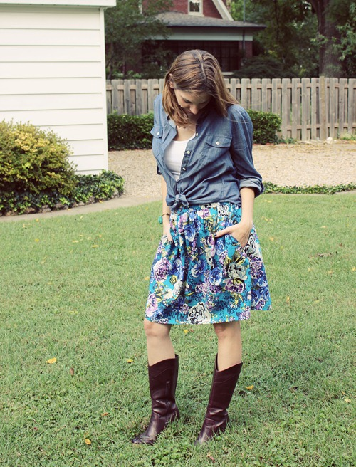 what we wore fall boots