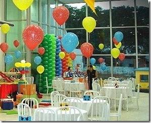 enfeites com balões 1