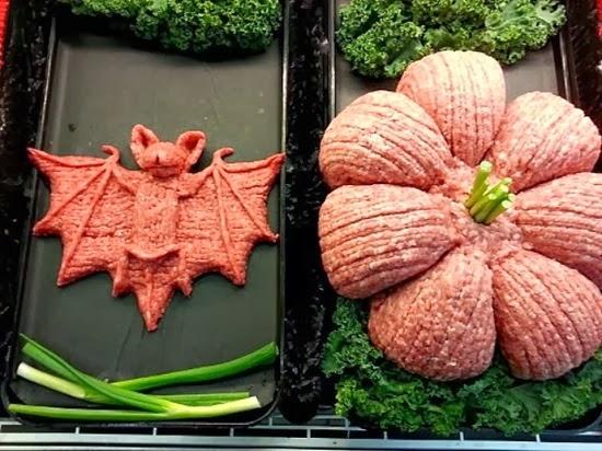 Esculturas de carne Halloween 03