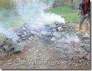 all fires smoldering