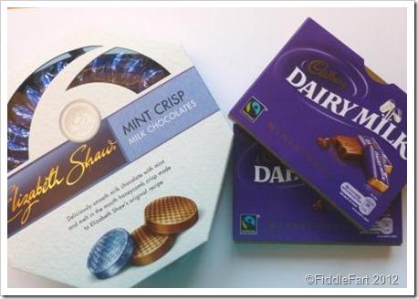 Elizabeth Shaw Mints Cadbury Miniatures