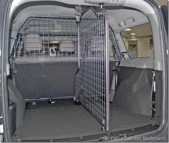 Honden-bagagerek Dacia Logan MCV 02