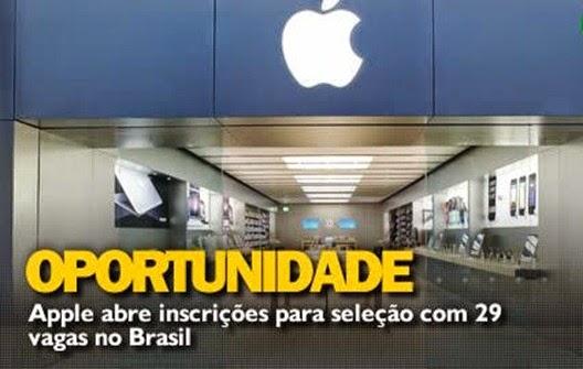 Vagas-de-Emprego-Apple - Seleção-Inscrição-Oportunidade