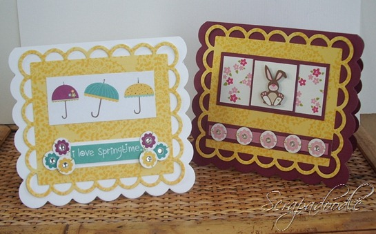 Bella Blvd Spring Fling and Easter Things, Lifestyle Crafts Cutting Dies, Clear Gems, Scrapadoodle, Carla's Scraps (1)