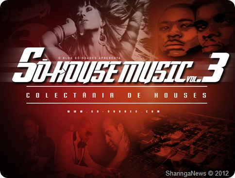 Só-9dades - Só-House Music Vol.III (Afro Houses)_Capa