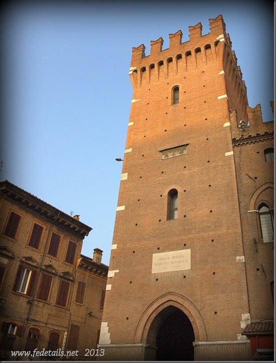 Torre della Vittoria ( esterno ), Ferrara, Emilia Romagna, Italia - Tower of Victory ( external ), Ferrara, Emilia Romagna, Italy - Property and Copyrights of www.fedetails.net