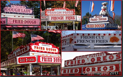 fried signs collage