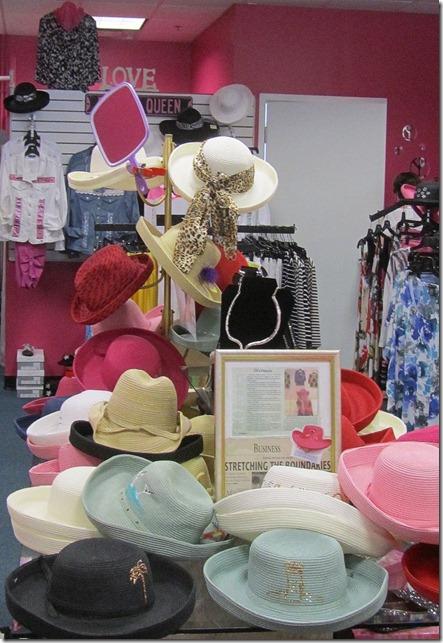 shopping villagesentertainment hats