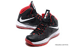 lbj10 fake colorway black white red 1 02 Fake LeBron X