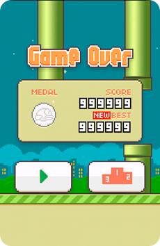 skor tertinggi flappy bird