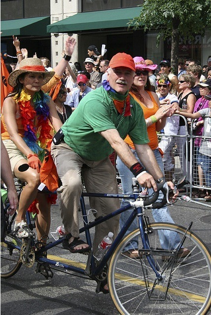 Jack Layton and Olivia Chow - Pride Parade 2006