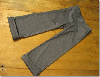 handmade gray dress pants for a preschool boy (13)