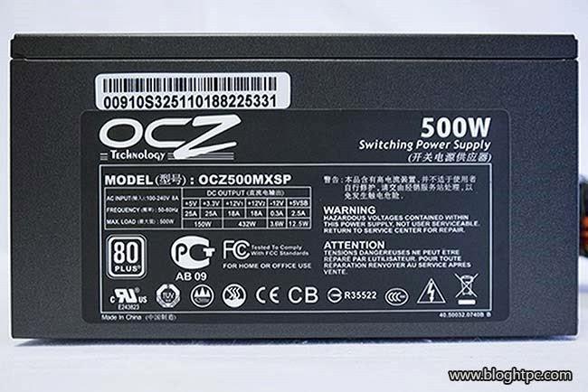 Exterior OCZ modxtream pro 500