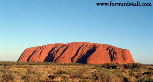 Uluru (Ayers Rock) - one of Australia's most recognisable natural icons