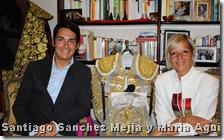 Santiago Sanchez Mejia y Maria Aguila-Domecq