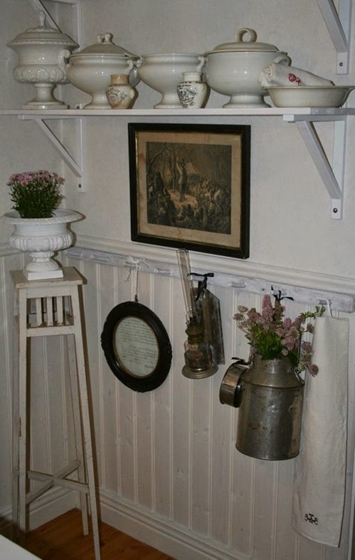 Mix Nordico e Gustaviano per una bella casetta svedese
