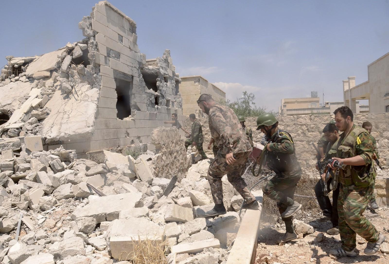 Сирия видео боев