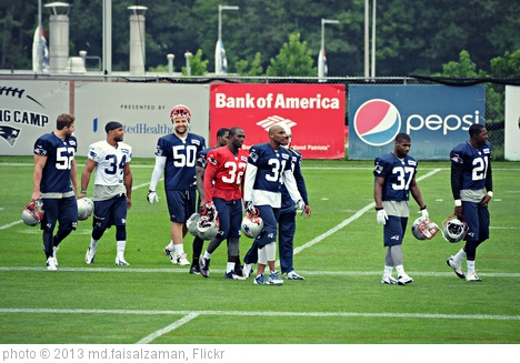 'Patriots Training Camp (Foxborough, Massachusetts)' photo (c) 2013, md.faisalzaman - license: http://creativecommons.org/licenses/by/2.0/