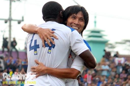 Asri Akbar cetak gol dalam laga uji coba lawan PSGC