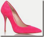Kurt Geiger Pink Stiletto Court