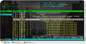 htop affinity