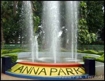 Anna Park, Yercaud