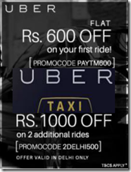 First Ride FREE worth Rs.600 and 2 Additional Rides FREE worth Rs.1000