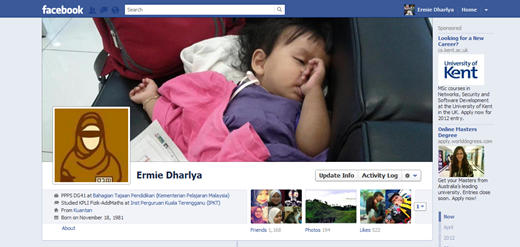 tukar dp facebook