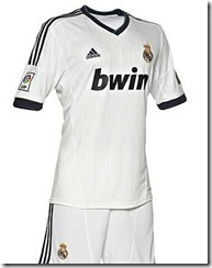 Primera camiseta Real Madrid