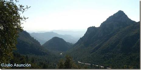 Panorámica desde la Cueva del Parpalló - Gandía