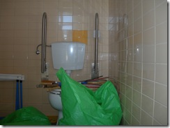 WC p mobilidade condicionada despensa