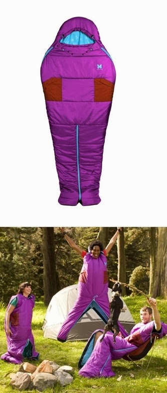 Onesie for camping