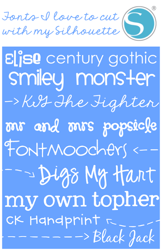 Fonts I love to cut with my Silhouette at GingerSnapCrafts.com #SilhouetteCAMEO #SilhouettePortrait_thumb[2]