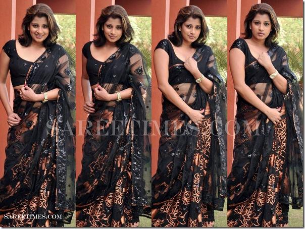 Nadeesha_Hemamali_Black_Saree