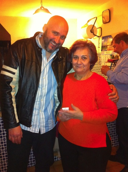 Con mi madre, Carmen