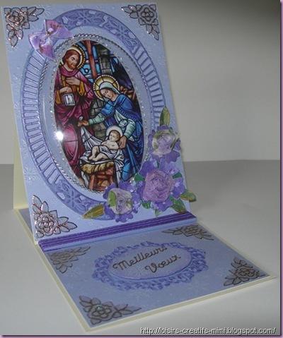 carterie créative-Noël-créatables-Docraft-fleurs ruban