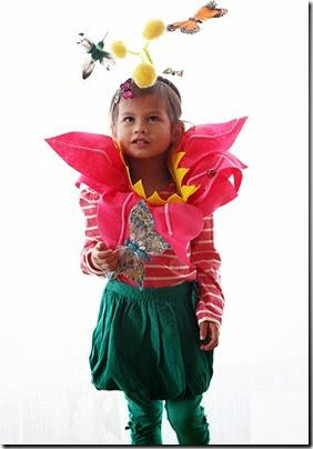 disfraz-flor-ninos