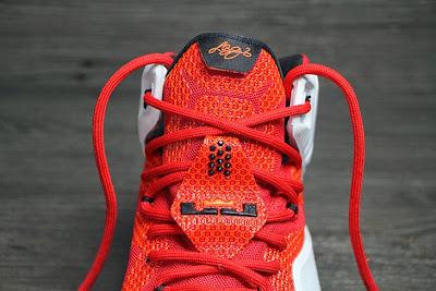 nike lebron 12 gr lion heart 3 02 Upcoming Nike LeBron XII (12) Red / White Lion Heart