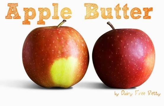 Apple butter by Dairy Free Betty