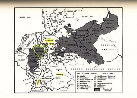 German States  1815-1866