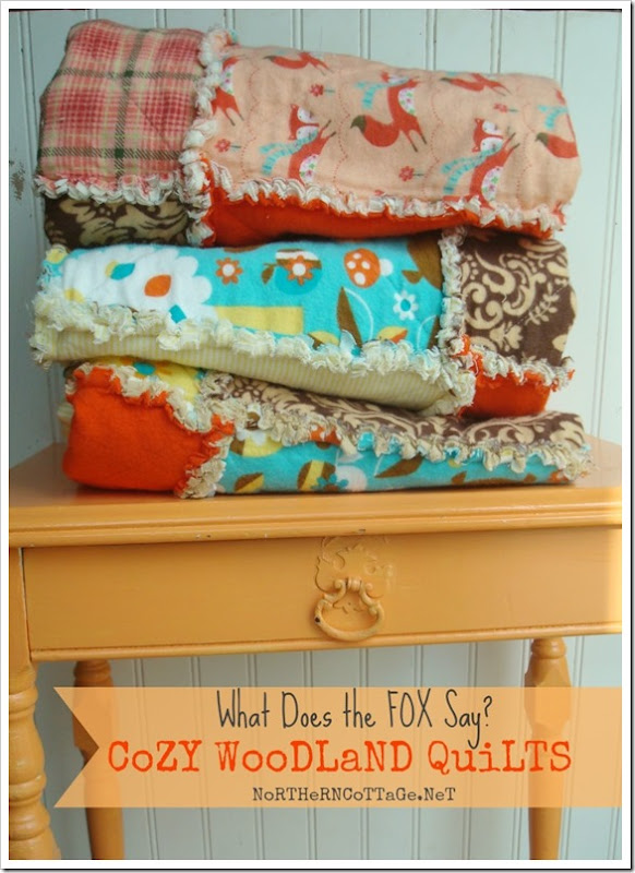 {Northern Cottage} what does the fox say quilts