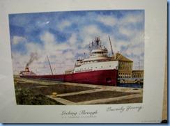 5163 Michigan - Sault Sainte Marie, MI - Museum Ship Valley Camp - Edmund Fitzgerald exhibit